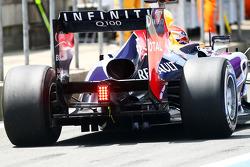 Sebastian Vettel, Red Bull Racing RB9 difusor traseiro