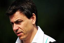 Toto Wolff, acionista e diretor da equipe Mercedes