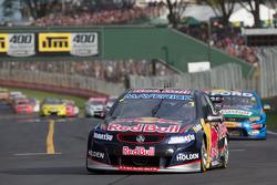 Jamie Whincup of Red Bull Racing Australia winner of race 2