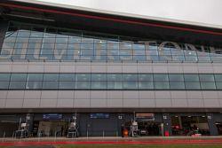 Les stands de Silverstone