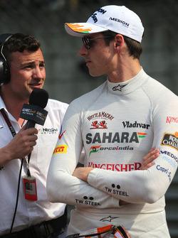Williams F1 Team Buxton, NBC TV, e Adrian Sutil, Force India