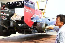 La Red Bull Racing RB9 de Mark Webber