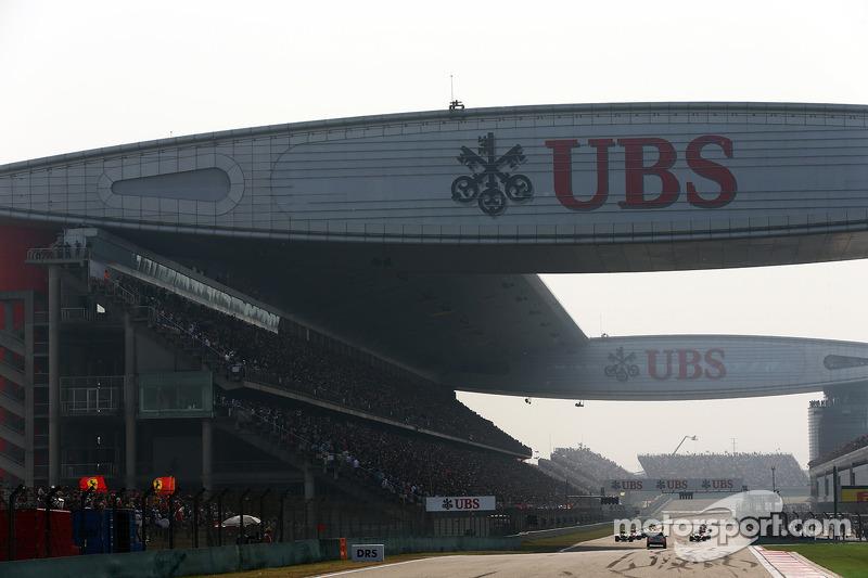 ГП Китая, Воскресная гонка.