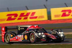 #13 Rebellion Racing Lola B12/60 Toyota: Andrea Belicchi, Mathias Beche, Cong Fu Cheng