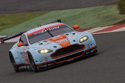 #95 Aston Martin Racing Aston Martin Vantage V8: Christoffer Nygaard, Kristien Poulson, Allan Simons