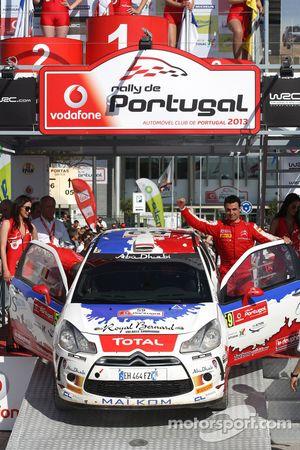 Bryan Bouffier, Xavier Panseri, Citroen DS3, vencedor do WRC3