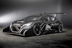 Teaser images of the Peugeot 208 T16 that Sébastien Loeb will drive in this year's Pike Peak Hill Climb