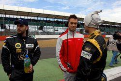 Vitantonio Liuzzi, André Lotterer et Jan Charouz