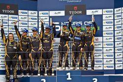 Primeira posição: Nicolas Prost, Neel Jani, Nick Heidfeld; Segunda posição: Andrea Belicchi, Mathias