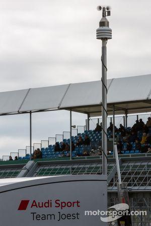 La météo changeante de Silverstone est surveillée chez Audi
