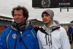 Trevor Carlin et Carlos Sainz Jr.