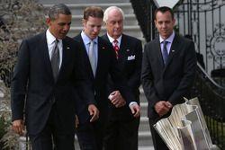 Barack Obama et Brad Keselowski