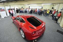 Ferrari F12 presentation