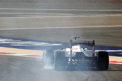 Valtteri Bottas, Williams FW35 trava na freada