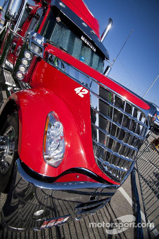 Ganassi Racing detalhe do caminhão