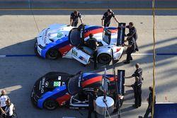 #55 BMW Team RLL BMW Z4 GTE: Bill Auberlen, Maxime Martin e #56 BMW Team RLL BMW Z4 GTE: Dirk Müller