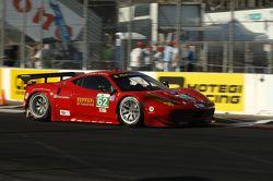 #62 Risi Competizione Ferrari F458 Italia: Olivier Beretta, Matteo Malucelli