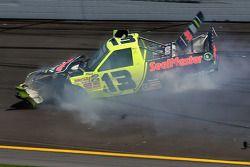 Todd Bodine crasht