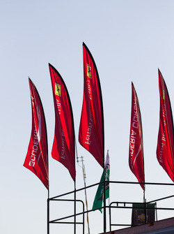 Ferrari vlaggen