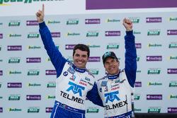 Overall podium: Winnaars Scott Pruett en Memo Rojas