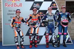 Marc Marquez, Dani Pedrosa, Jorge Lorenzo, top CRT rider Aleix E