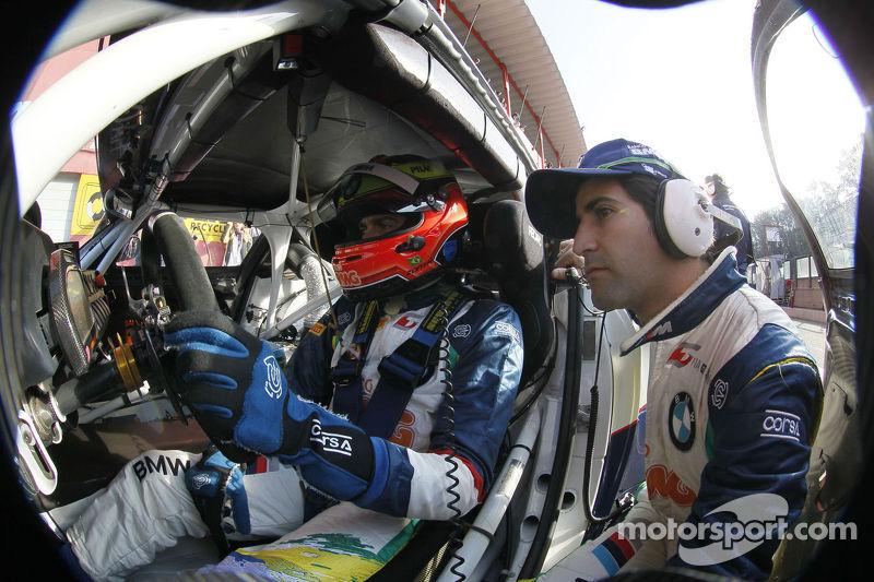 O primeiro parceiro do piloto foi Ricardo Zonta, que passou pela Fórmula 1 e está na Stock Car