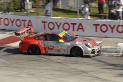 #45 Flying Lizard Motorsport Porsche 911 GT3 Cup: Nelson Canache, Spencer Pumpelly
