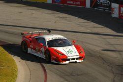 #23 Team West/AJR Ferrari F458 Italia: Bill Sweedler, Townsend Bell