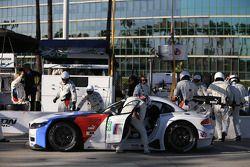 #56 MBMW Team RLL BMW Z4 GTE: Dirk Muller, Joey Hand