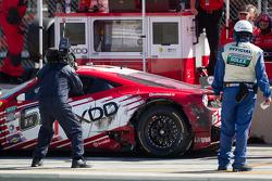 #69 AIM Autosport Team FXDD com Ferrari Ferrari 458: Emil Assentato, Anthony Lazzaro