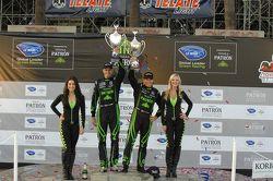 P2 podium: winners Scott Sharp, Guy Cosmo