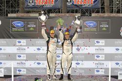 PC podium: winners Jonathan Bennett, Colin Braun