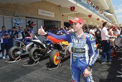 3e plaats Jorge Lorenzo