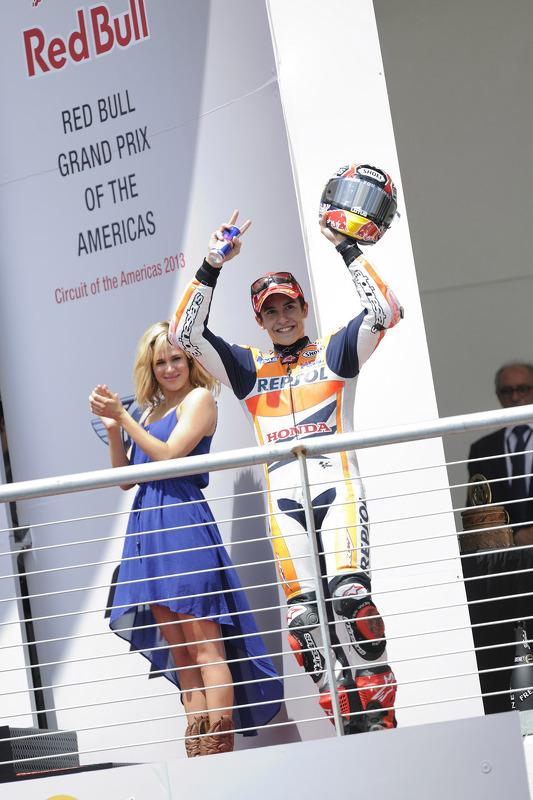 Podio: ganador Marc Márquez