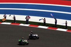 Hector Barbera, Avintia Blusens FTR y Bryan Staring, Go & Fun Honda Gresini