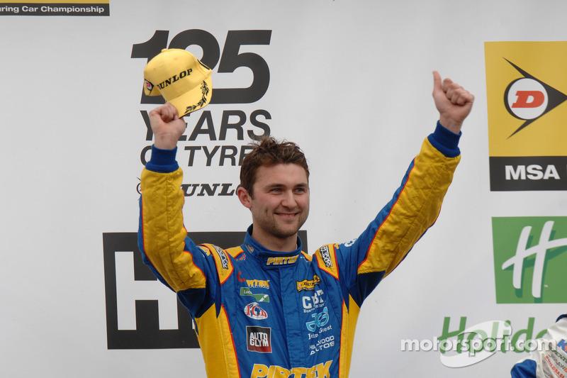 Round 5 Racewinnaar Andrew Jordan