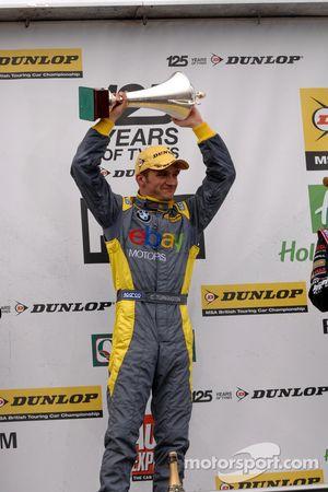 Round 6 race winner Colin Turkington