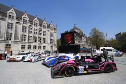 Aston Martin Vantage V8, Audi R18 e-tron quattro, Toyota TS030-Hybrid and Oak Racing Morgan Nissan