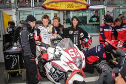 # 50 TEAM MOTORS EVENTS APRIL MOTO: Gregory Fastre, Claude Lucas, Michael Savary