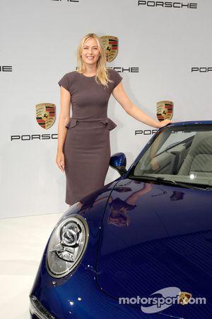 Maria Sharapova wordt Porsche-ambassadeur