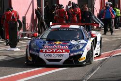 #9 Sébastien Loeb Racing McLaren MP4-12C: Sébastien Loeb, Alvaro Parente