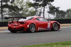 #50 JMB Racing Ferrari 458 Italia: Patrice Madeleine, Manuel Rodrigues