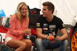 Pepe Oriola, SEAT Leon WTCC, Tuenti Racing en zijn vriendin