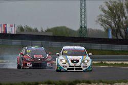 INKL.COM Münnich Motorsport en Pepe Oriola, SEAT Leon WTCC, Tuenti Racing