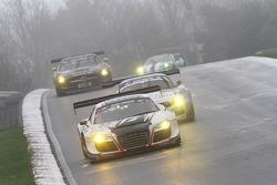 Laurens Vanthoor, Edward Sandström, Christopher Haase, Team WRT, Audi R8 LMS ultra