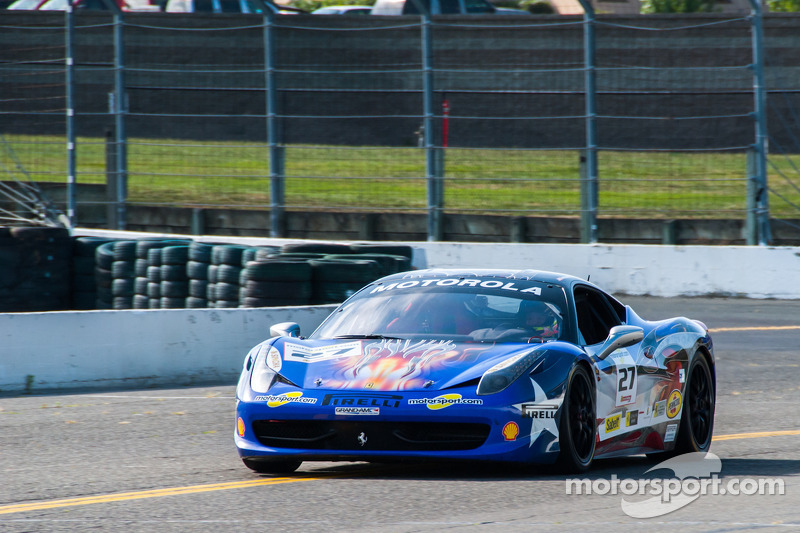 #27 Ferrari of Houston 458TP: Mark McKenzie