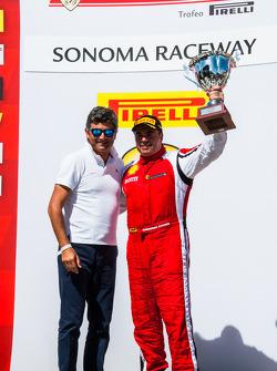 TP podium: third place Emmanuel Anassis