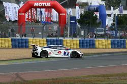 Spin for #9 Sébastien Loeb Racing Mc Laren MP4/12C: Nicolas Tardiff, Nicolas Marroc