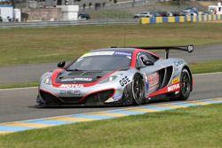 #17 Hexis Racing Mc Laren MP4/12C: Eric Debard, Olivier Panis