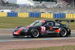 #29 Graff Motorsport Porsche 911 GT3 R: Eric Trouillet, Marcel Sciabbarrasi